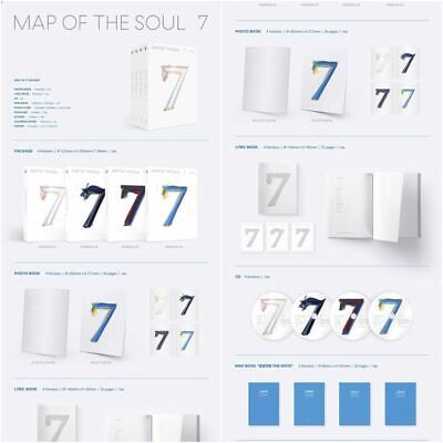 BTS: MAP OF THE SOUL 7 / CD+Full Pack Poster (Big Hit) New Sealed Album / Gift