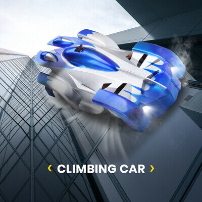 RC Wall Climbing Car Remote Control Anti Gravity Ceiling Racing Car Electric Toy