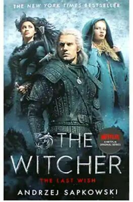 The Witcher The Last Wish Book Netflix TV Series Brand New