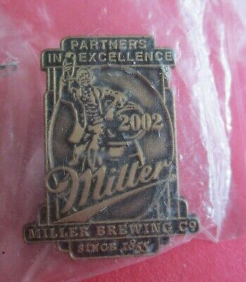 Miller Beer Brewing Company Since 1855 Lapel Pin New NIP