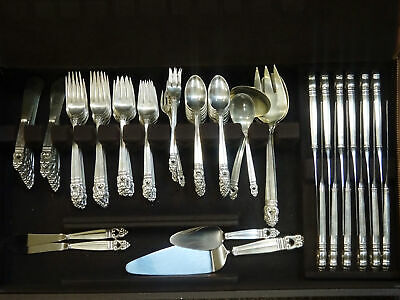 Royal Danish International Sterling Silver 126pc Flatware Set