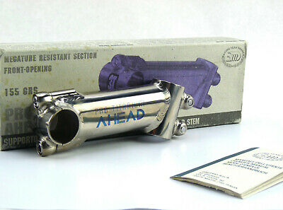 """10° Bore 26.0mm Silver New Uno Road Touring Bike Ahead Stem 1-1//8/"""" 120mm"""