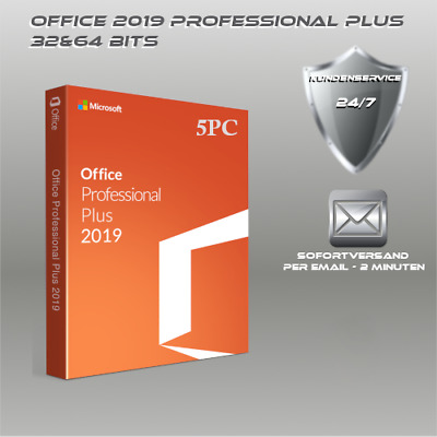 Office 2019/2016/2013/2010 Professional Plus/H&S > 32&64 Bits > ESD per Email