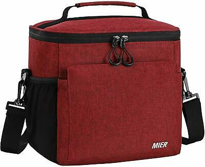 Lunch Bag For Men Black Adult Lunch Box Insulated Cooler Bags Lonchera Insulado