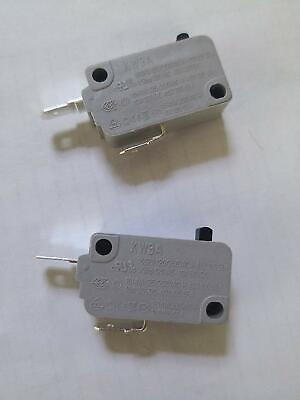 2Pcs Microwave Oven KW3A Door Micro Switch Normally Open Microswitches 16A DR52