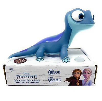 Frozen 2 Bruni the Salamander Mood Color Changing Night Light Age 6+