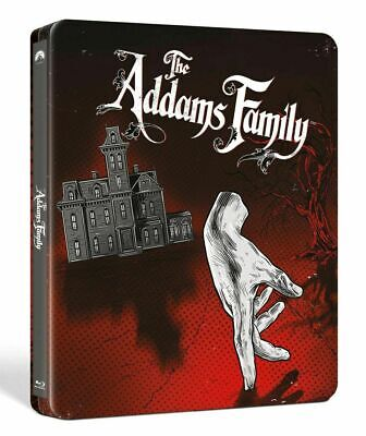 The Addams Family Exclusive Steelbook Blu ray + DVD Raul 1991 Adams Family NEW!