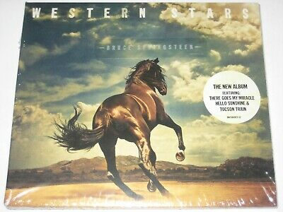 BRUCE SPRINGSTEEN western stars digipak CD NEW/SEALED