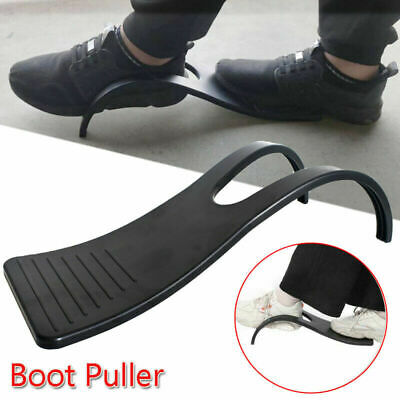 Heavy Duty ABS Black Boot Puller For Shoe Foot Jack Scraper Cleaner Removers