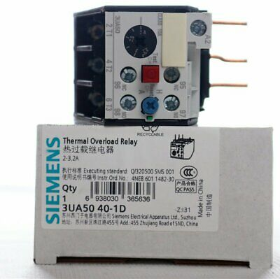 1PC New In Box Siemens Overload Relay 3UA5040-1D, QTY 3 Per Lot free shipping