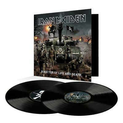 Iron Maiden - A Matter Of Life And Death 2LP 180g Black Vinyl Repress 2017 OVP