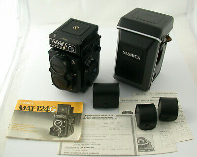 YASHICA Mat-124G 124 G 6x6 mechanic iconic serviced 1,5 Volt full set MIT EXTRAS
