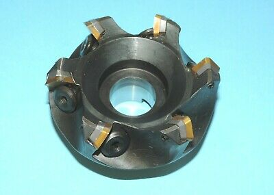 """SECO 3"""" Indexable 45° Chamfer Face Milling Cutter (R220.13-03.00-12)"""