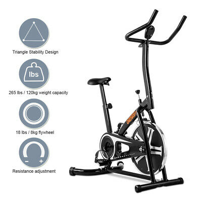Stationary Home Exercise Bike Cycling Fitness Cardio Training Workout OT077
