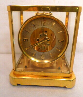 Early 50's Vintage Atmos Clock by Jaeger Le Coultre-- #31657