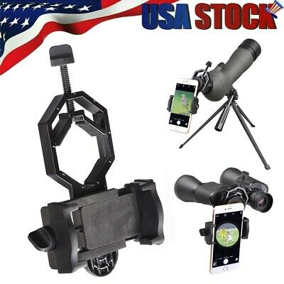 Universal Phone Holder Adapter Mount for Telescope Spotting Scope Bino/Monocular