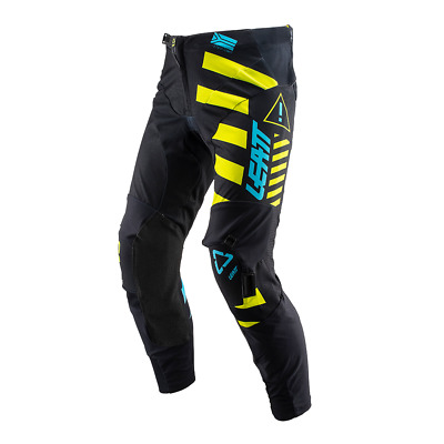 Leatt Gpx 5.5 Iks Enduro And Mens Pants Moto - Black Lime All Sizes