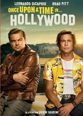 Once Upon a Time in Hollywood DVD Digital 2019 Brand New Sealed Fast  Shipping