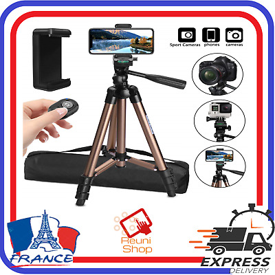 Trepied Appareil Photo Smartphone iphone GoPro Camera Télécommande Bluetooth