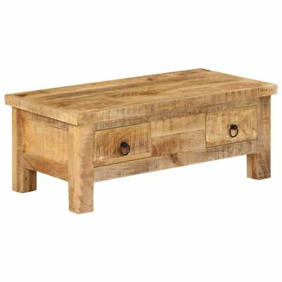 Special Coffee Table with Antique-style Handmade 90x45x35 cm Solid Mango Wood