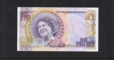 RARE RBS SPECIAL ISSUE QUEEN MOTHER 100th BIRTHDAY £20 NOTE. 04/08/2000  UNC