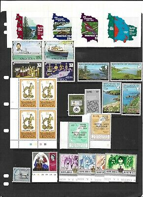 Commonwealth  QE2  MNH collection