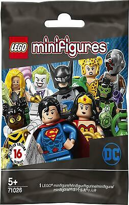 LEGO 71026 Minifigures DC Super Heroes One Blind Pack Supplied Brand New 5 Yrs+