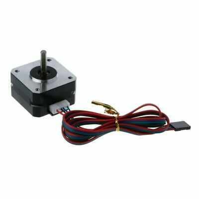 2Pcs Stepper Motor Automation 4 Lead Nema 17 22mm Drives For 3D Printers 12V