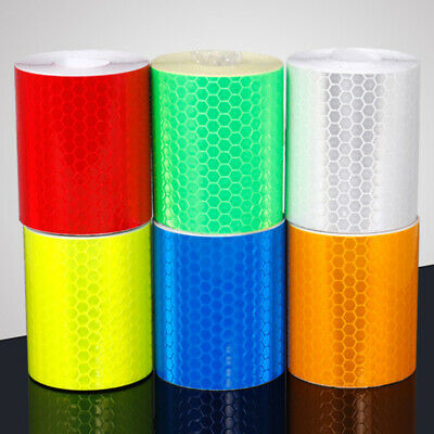 Reflective Sticker Reflector Tape 6 Colors For Bike Bicycle Night Safety Warning