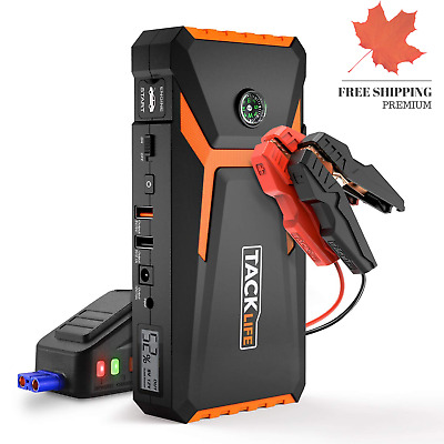 Jump Starter 800A Peak 18000mAh Car Jump Starter 12V Auto Battery Booster up ...