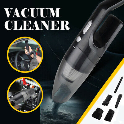 120W 12V Car Vacuum Cleaner Corded Hair Dust Handheld Wet Dry Portable Suction