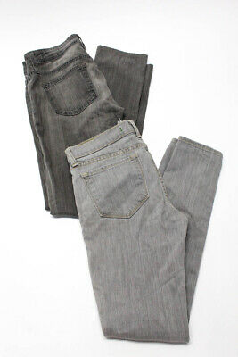 Women/'s Genetic Denim Clay Midrise Daphne Skinny Cropped Jeans
