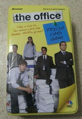 The Office Trivia Card Game Pressman 2009 New And Unopened In Plastic