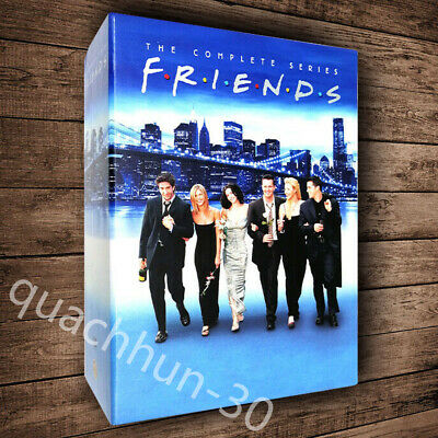 FRIENDS THE COMPLETE SERIES DVD SEASONS 1-10 BOX SET Fast shipping