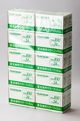 Fuji FUJICOLOR 100 35mm 24exp color film set of 10   Expire 12-2022