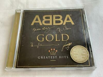 Collectable Signed Edition Abba Gold Greatest Music Hits 25Th Anniversary Cd