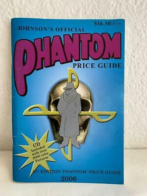 Collectable Phantom Comic Price Guide Book 2006 Johnson's Official + Cd