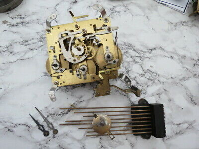 Vintage Whittington/Westminster Chime Clock Movement, Etc Spares/Repair (Lot 8)