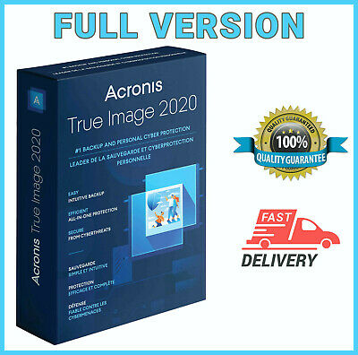 🔥🔥Acronis True Image Backup 2020 ISO - Boot ✔Lifetime Version ✔Fast Delivery🔥