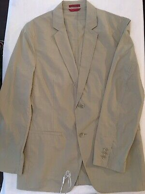 NWOT ALFANI Men's Blazer, Sz MT, Tan, Very lightweight! MSRP: $135