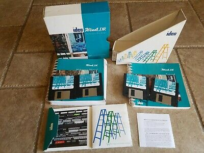 Idec 1997 PLC DOS Software, Version 1.0 And Manual Pack