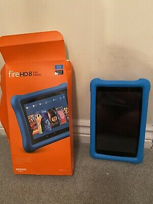 Amazon Kindle Fire HD 8 Kids Edition 32GB Tablet - BLUE