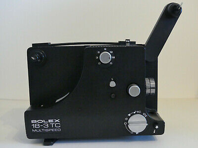 Projecteur BOLEX 18-3 TC Multispeed pour films 8 mm ou Super 8