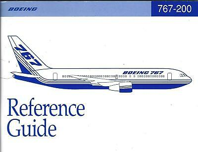 Reference Guide - Boeing - B767 200 - 11/95 (B593)