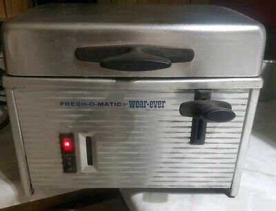 Fresh-O-Matic Commercial Countertop Steamer by wear•ever -Tested & Working