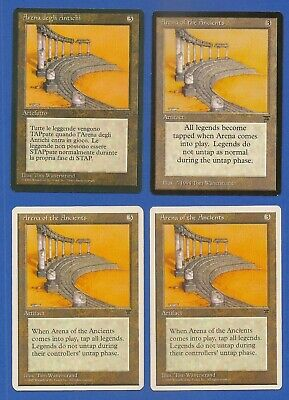 4X Arena Of The Ancients - Mtg - 1X English Legends - 1X Italian - 2X Chronicles