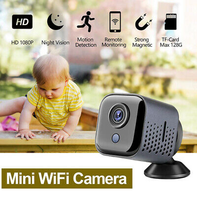 Portable Novosun 1080P Nanny Cams Hidden Camera Wireless Spy Camera Security