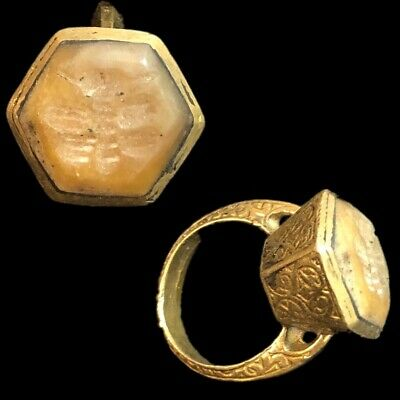 Stunning Top Quality Intaglio Seal Stone Ring (5)