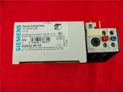 1PC NEW SIEMENS Thermal Overload Relay 3UA5240-1K 8-12.5A