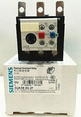 1PC Siemens Thermal Overload Relay 3UA5840-2F 32-50A New In Box